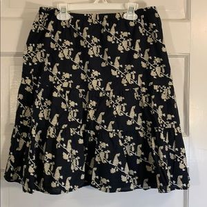 Mossimo Patterned Skirt